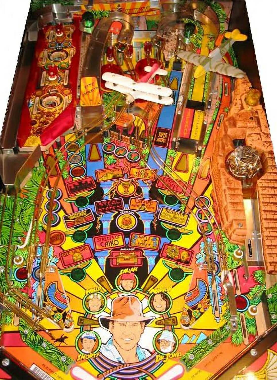 Indiana Jones The Pinball Adventure Pinball Machine