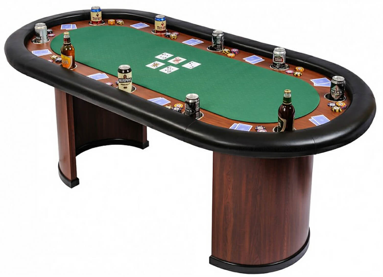 Poker bumper pool table home design ideas and pictures for 10 person poker table top