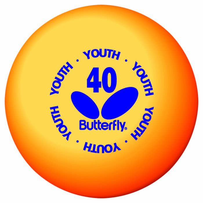Butterfly skills youth training ball box of 144 10719 for 1 gross table tennis balls