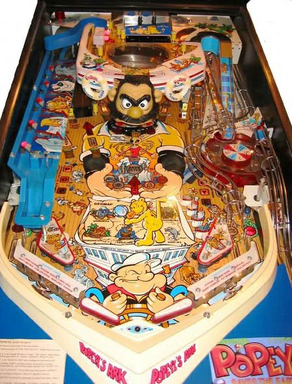 popeye arcade machine for sale