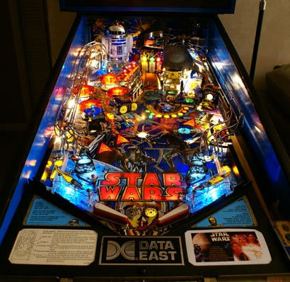 Star Wars Pinball Machine >> Star Wars Pinball Machine For Sale Liberty Games
