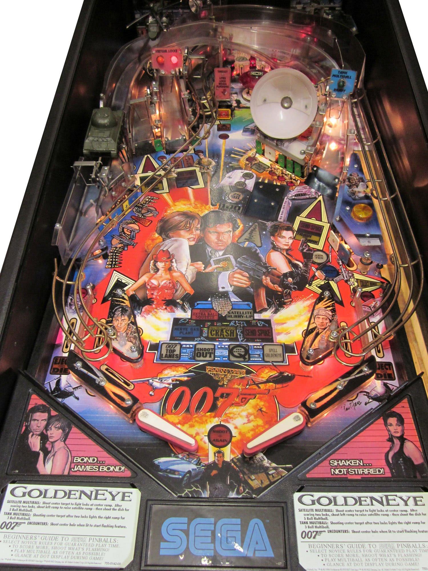 Goldeneye Pinball Machine Liberty Games