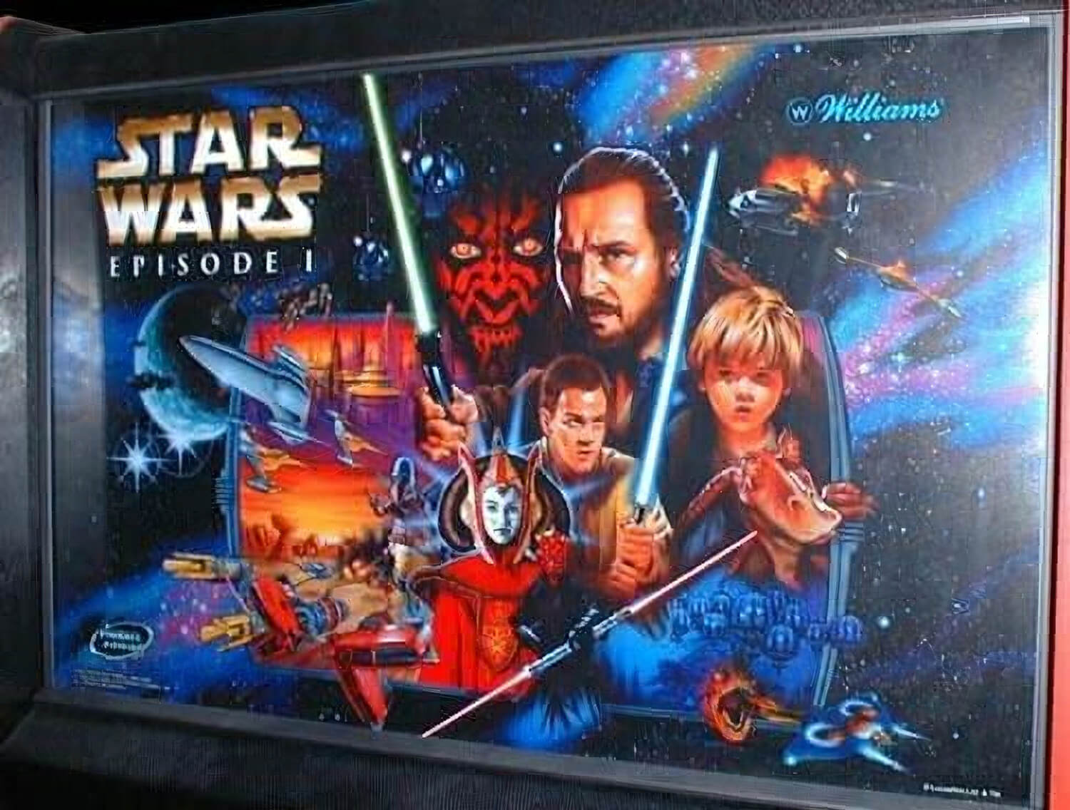 star wars episode 1 pinball machine liberty games. Black Bedroom Furniture Sets. Home Design Ideas