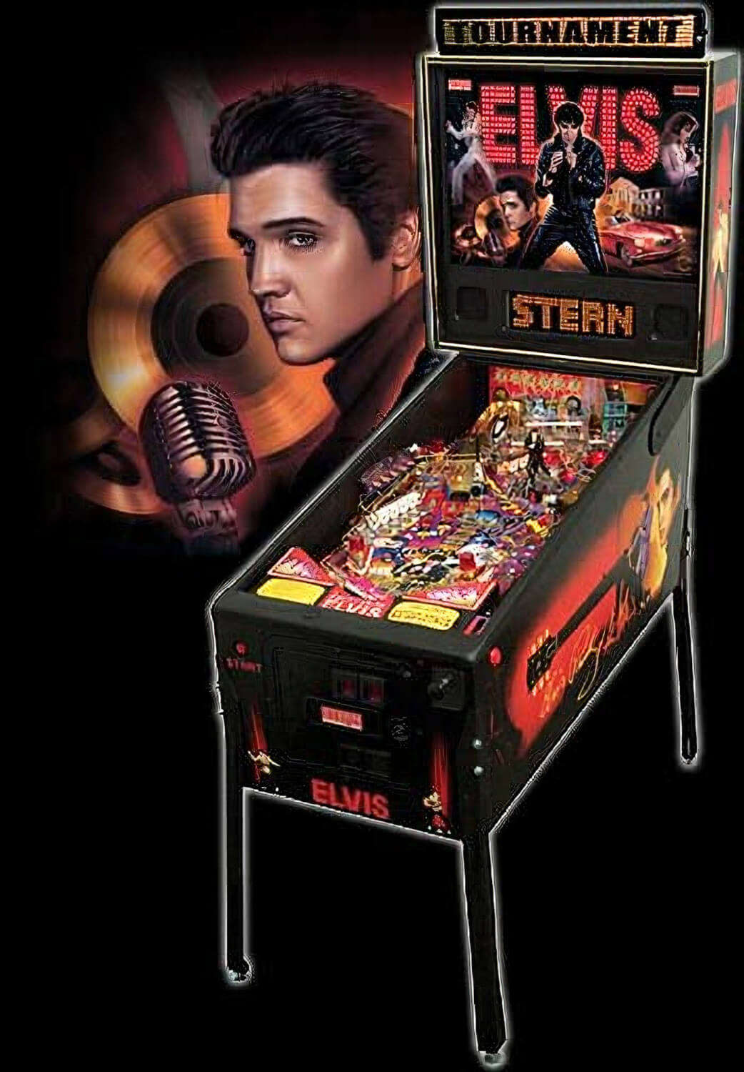 Elvis Pinball Machine Liberty Games