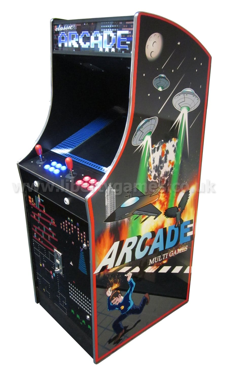 arcade machine artwork