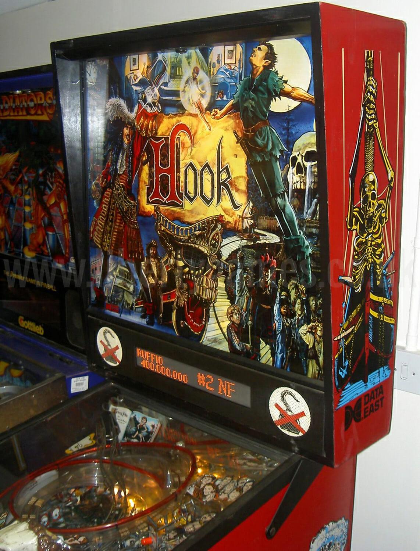 Hook Pinball Machine Liberty Games