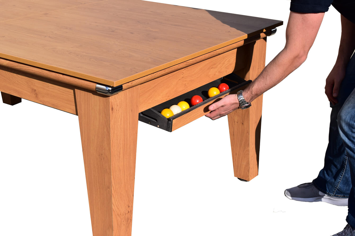 Picture of: Classic Diner Pool Dining Table 6 Ft 7 Ft Liberty Games