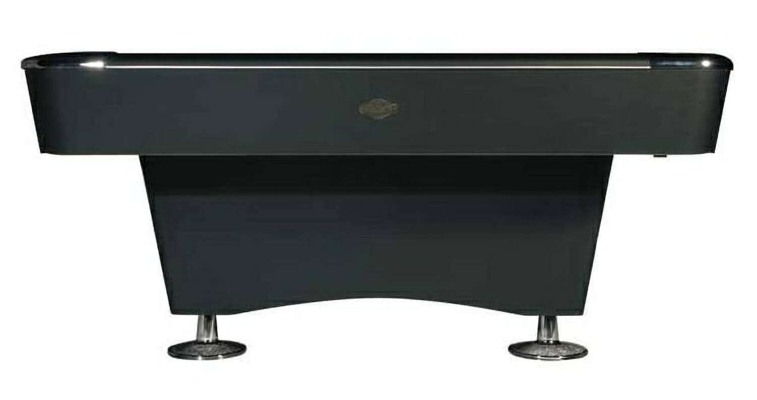 Table Image Front View Slate Bed Pool Table