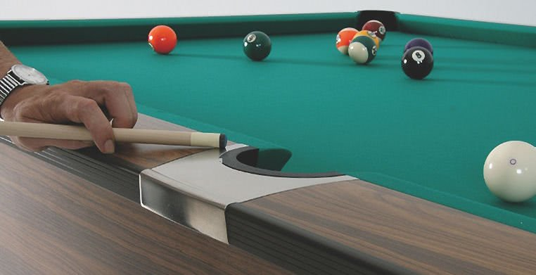 KSteel American Pool Table Ft Ft Liberty Games - Pool table no pockets