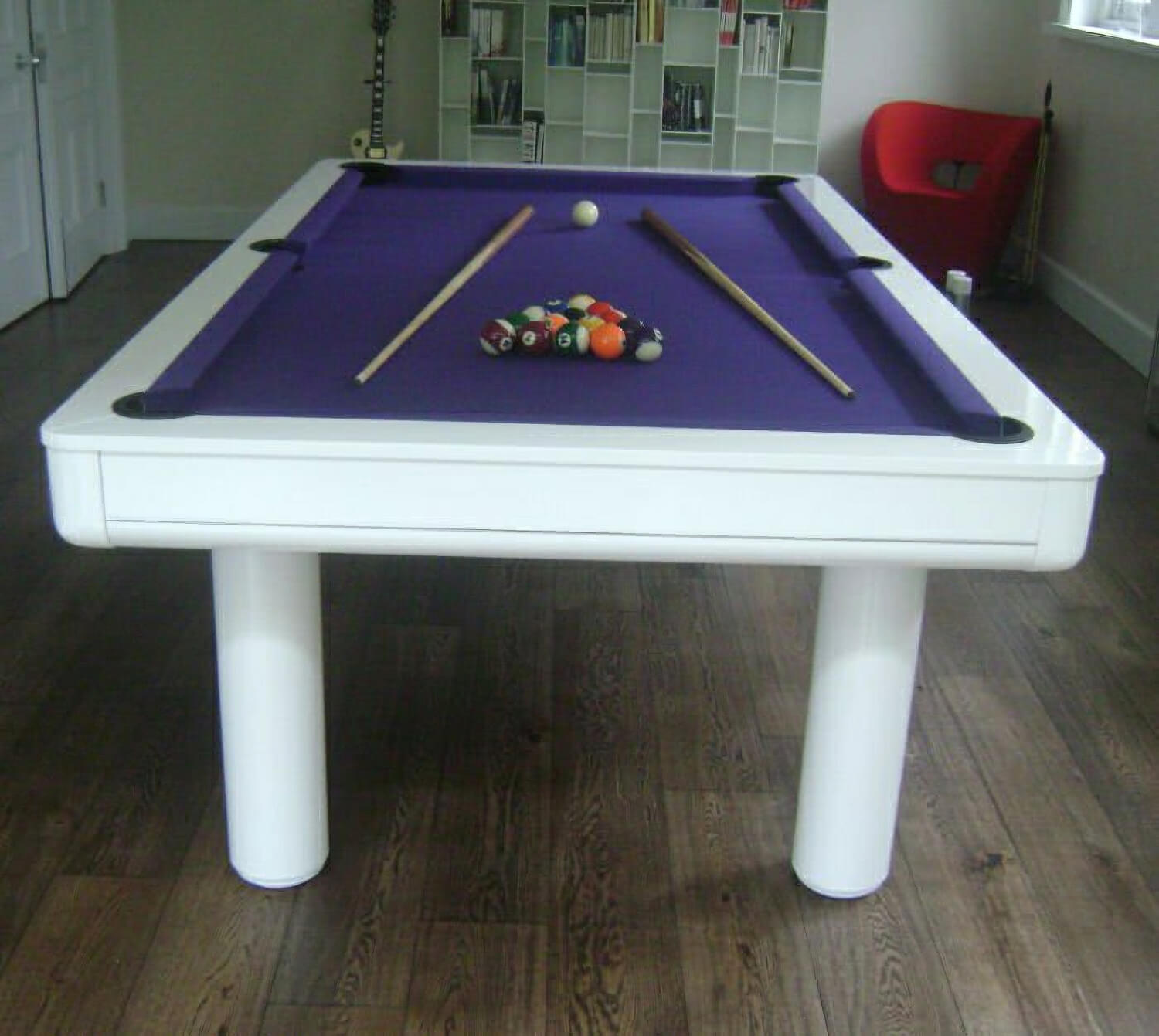 Longoni Elegant Pool Table 8 Ft Liberty Games