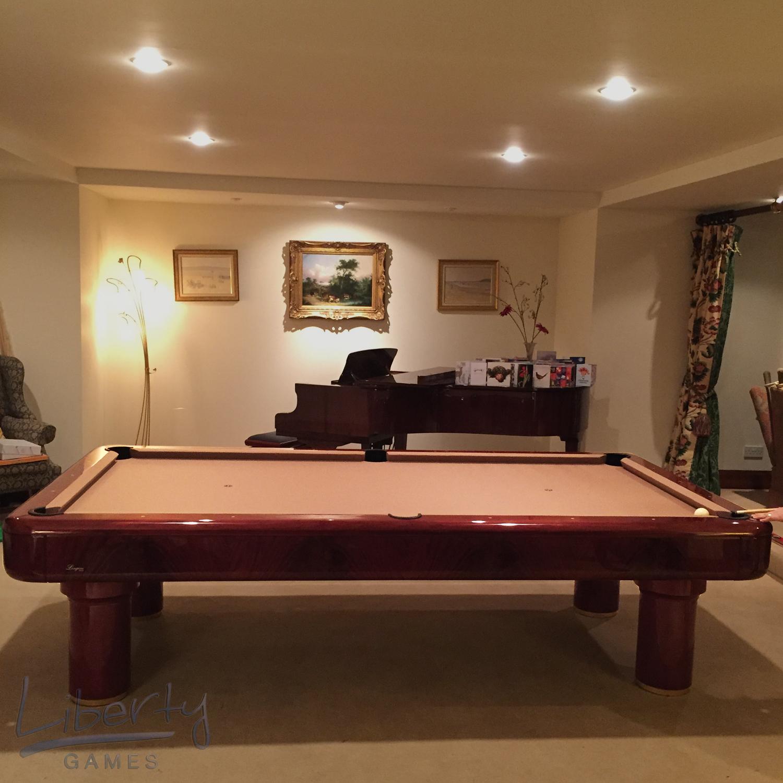 Longoni Elite VL Slate Bed Pool Table