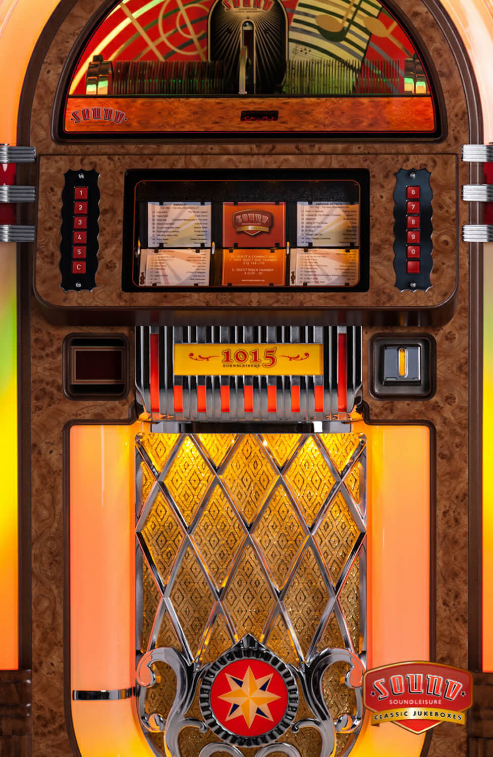Sound Leisure Sl15 Cd Jukebox Liberty Games