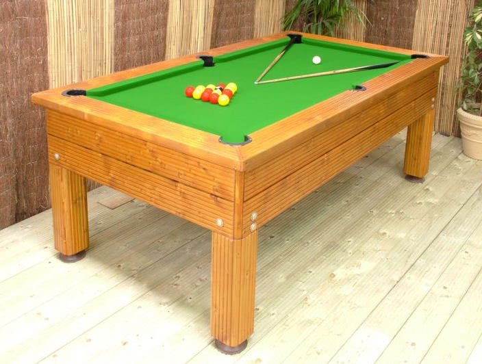 Evergreen Pool Table   Ideal For Patio, Decking Or Lawn