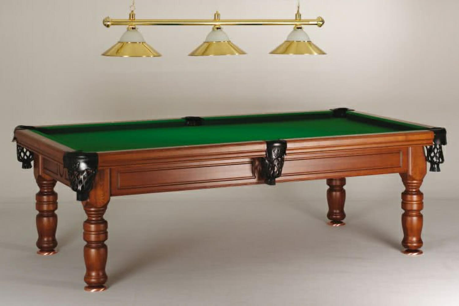 Bon Madrid Vintage Pool Table (LIghting Not Included)