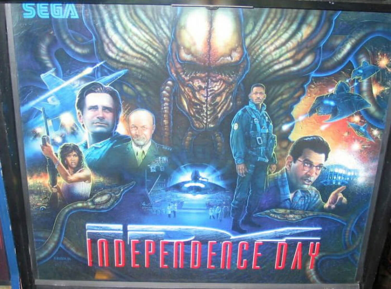 Id4 Independence Day Pinball Machine Liberty Games