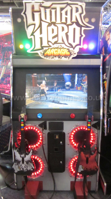 Konami Guitar Hero Arcade Machine Liberty Games