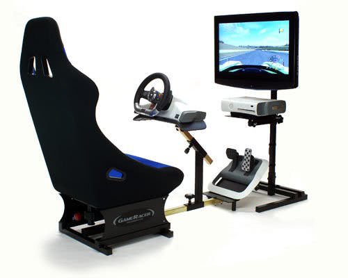 Racer Elite Driving Simulator Seat Xbox Ps3 Pc Compatible