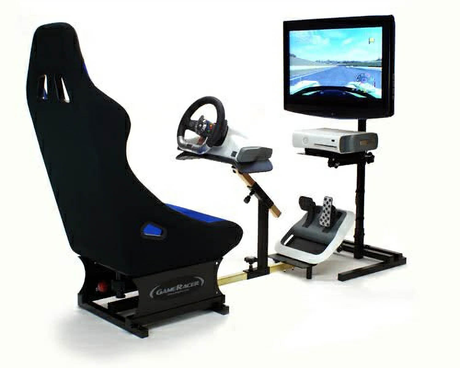 Racer Elite Driving Simulator Seat Xbox PS3 PC Compatible – Xbox Racing Chair