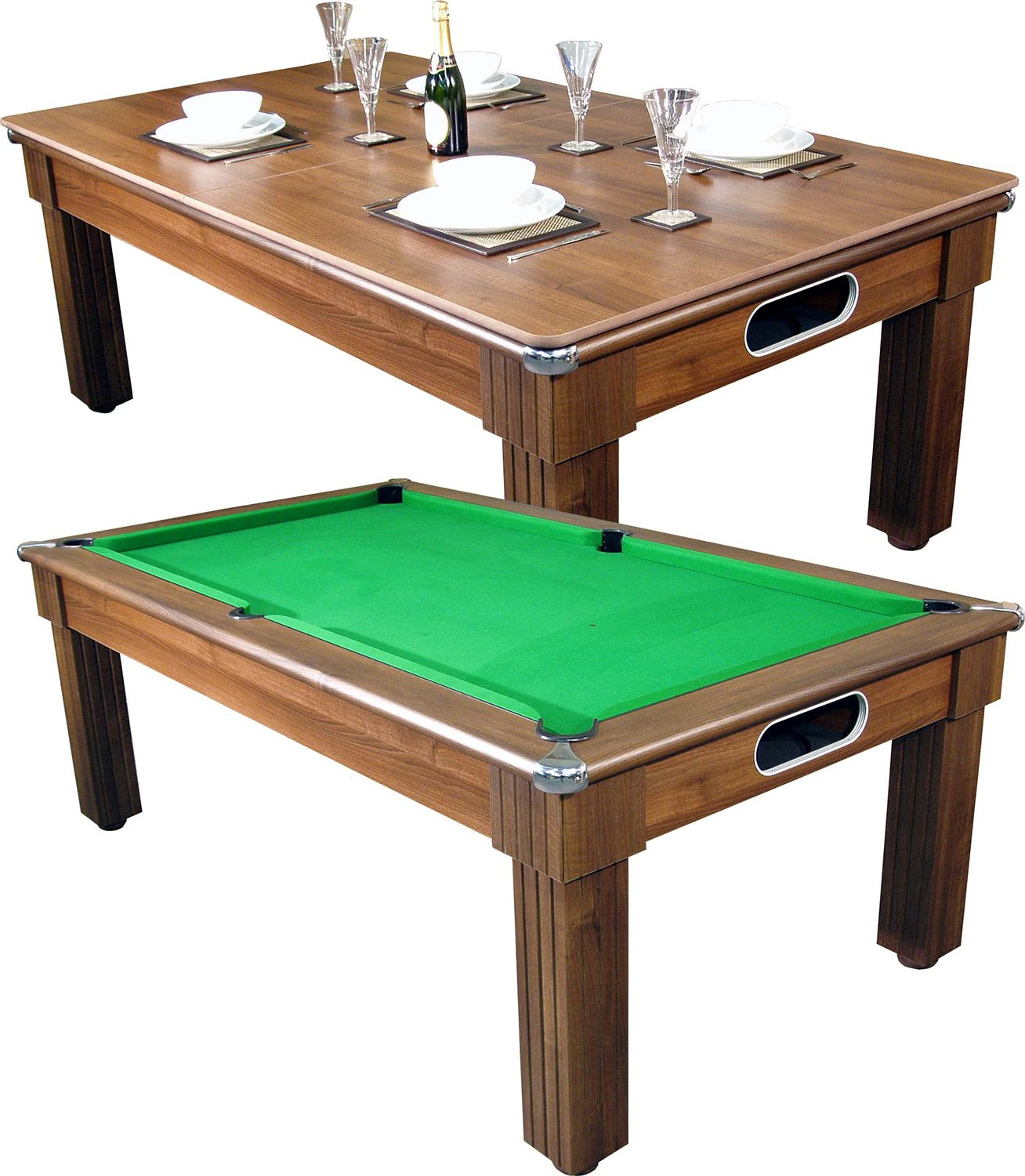 Pool Table Dining Room Table: Florence Pool Dining Table - 6 Ft, 7 Ft