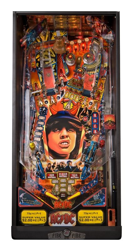 Ac Dc Pinball Table Liberty Games