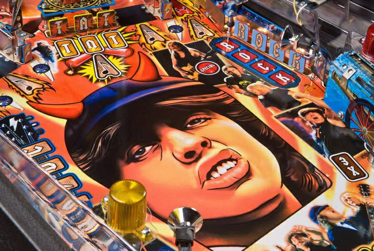 Neon Signs For Sale >> AC / DC Pinball Table | Liberty Games