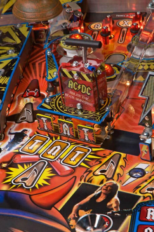 Ac Dc Pinball Table Liberty Games