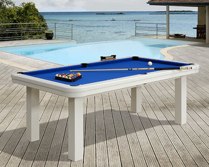 Billiards plaisance seychelles pool table 7 ft liberty for Table exterieur joli