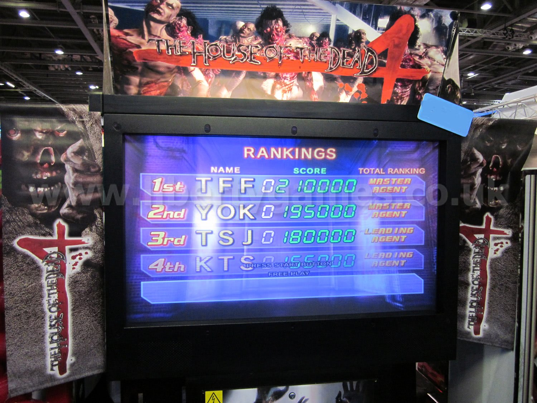 Sega House Of The Dead 4 Deluxe Arcade Machine Liberty Games