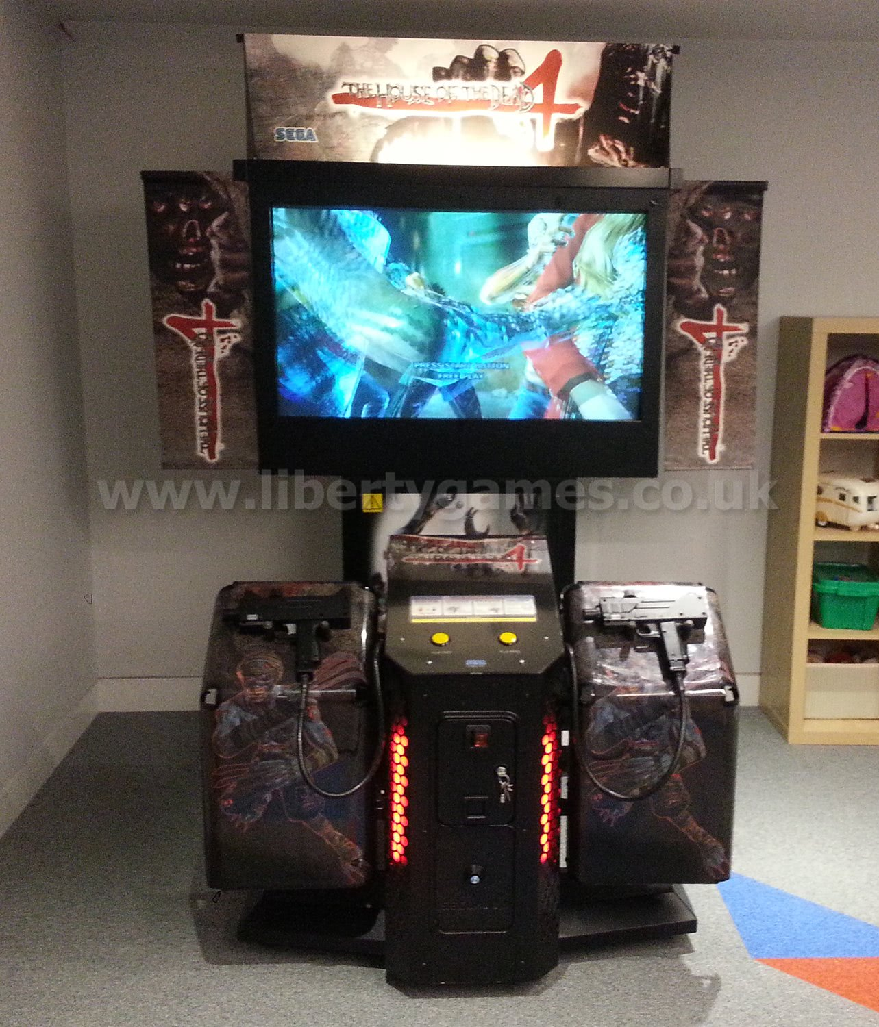 Sega House Of The Dead 4 Deluxe Arcade Machine Liberty Games