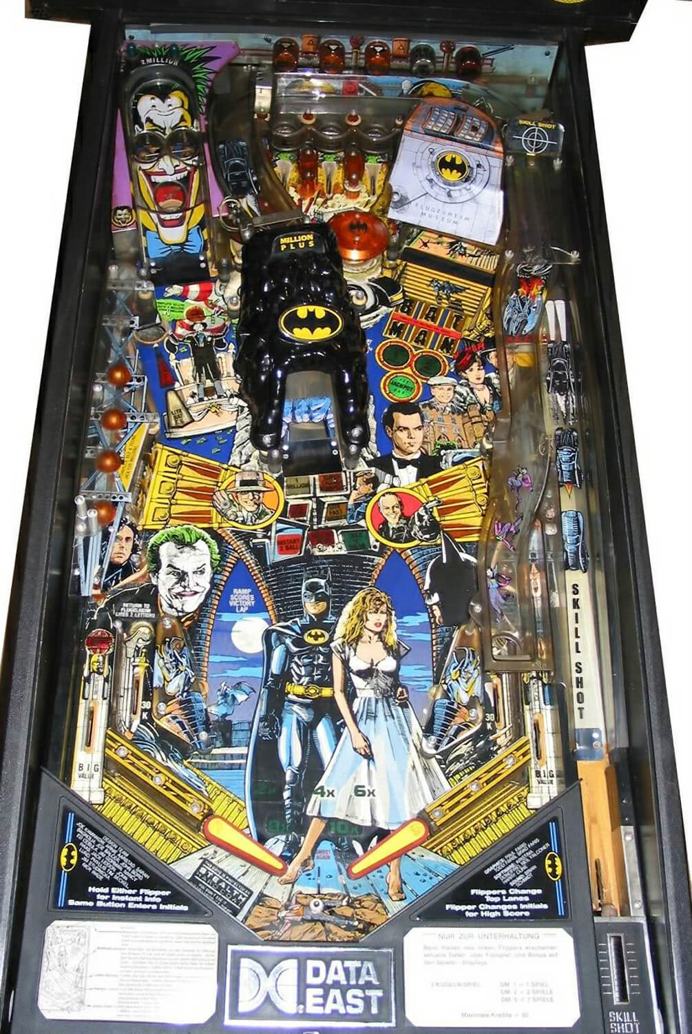 Batman Pinball Machine Liberty Games