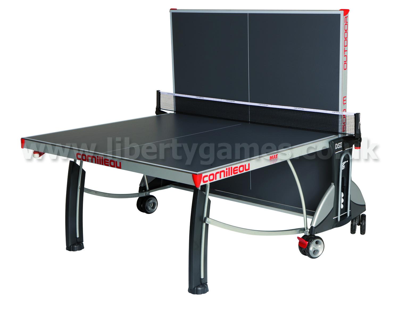 Cornilleau sport 500m rollaway outdoor table tennis liberty games - Table cornilleau 500m outdoor ...