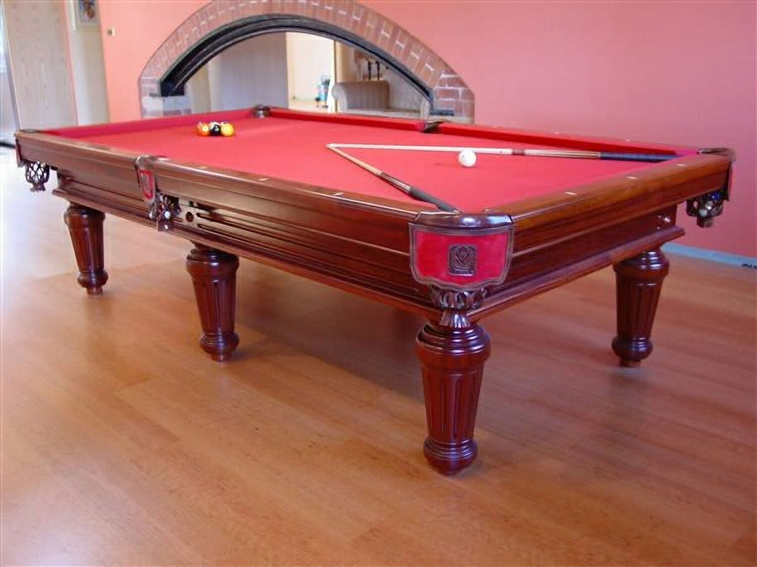 Regenta american slate bed pool table 9 ft liberty games - Traditionele bed tafel ...