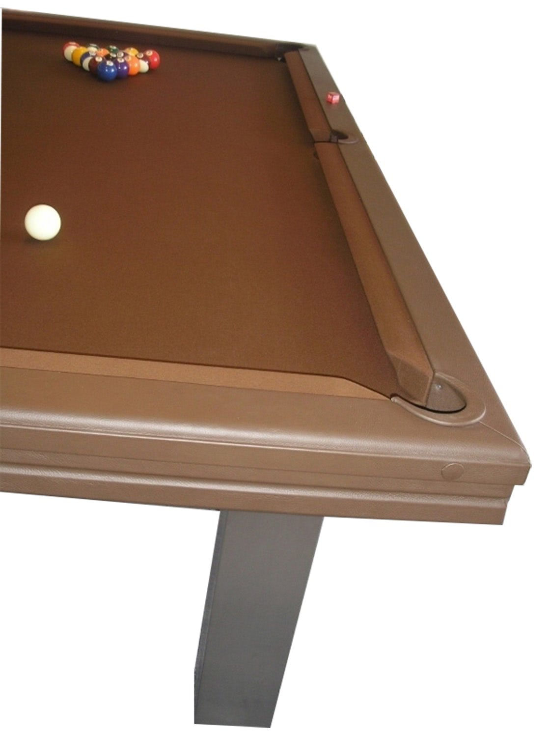 Billard toulet leatherlux pool table 8 ft 9 ft liberty games leatherlux table side keyboard keysfo Image collections
