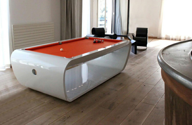 Billard Toulet Blacklight Pool Table Liberty Games