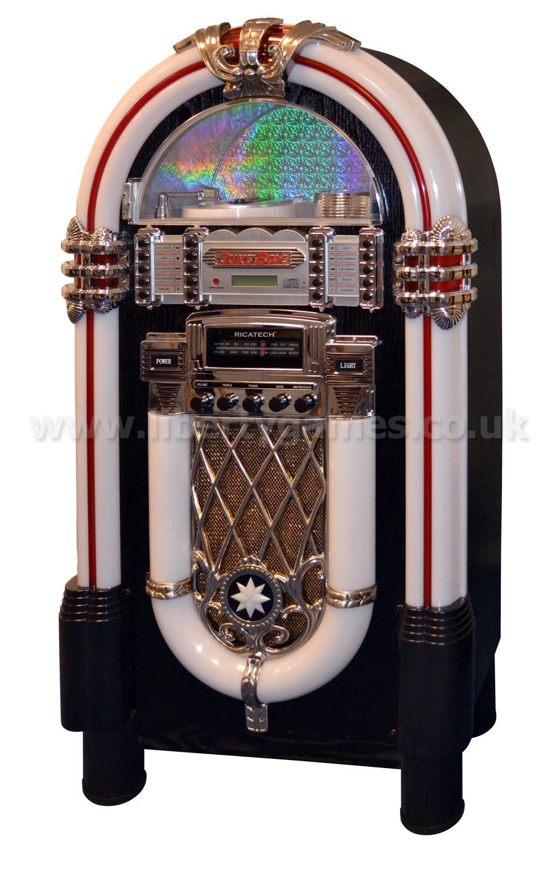 Ricatech Multimedia Rock N Roll Replica Jukebox Rr950
