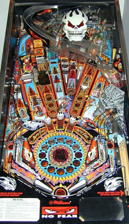No Fear Dangerous Sports Pinball Machine Liberty Games