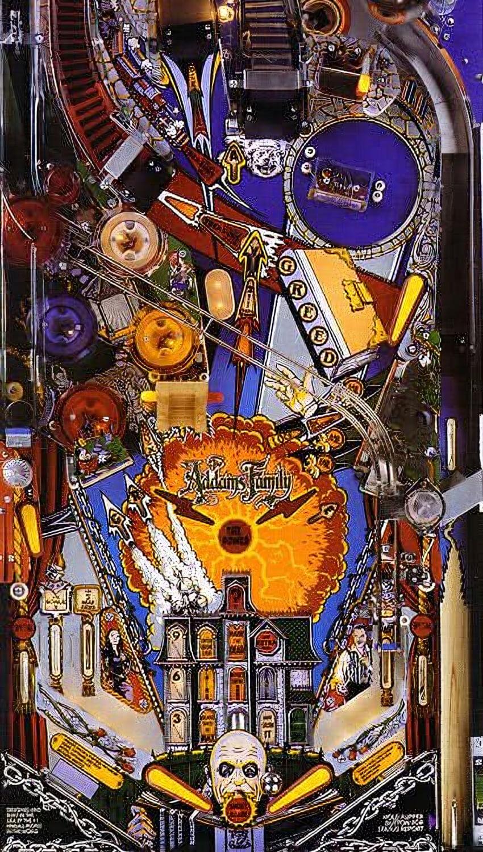 The Addams Family Pinball Machine Liberty Games