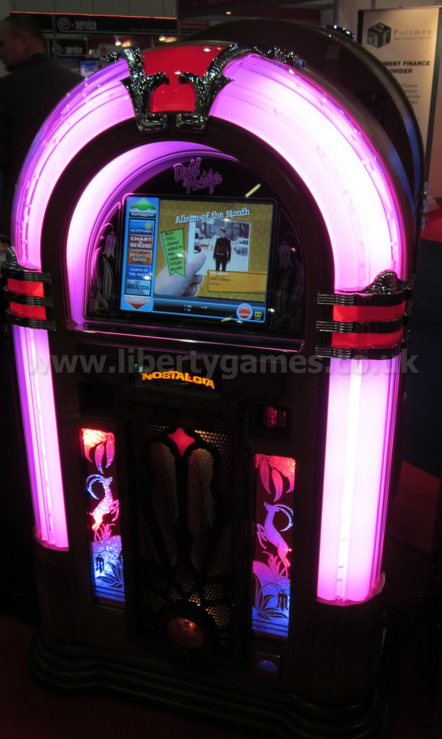 Sound Leisure Digital Nostalgia Digital Jukebox Liberty