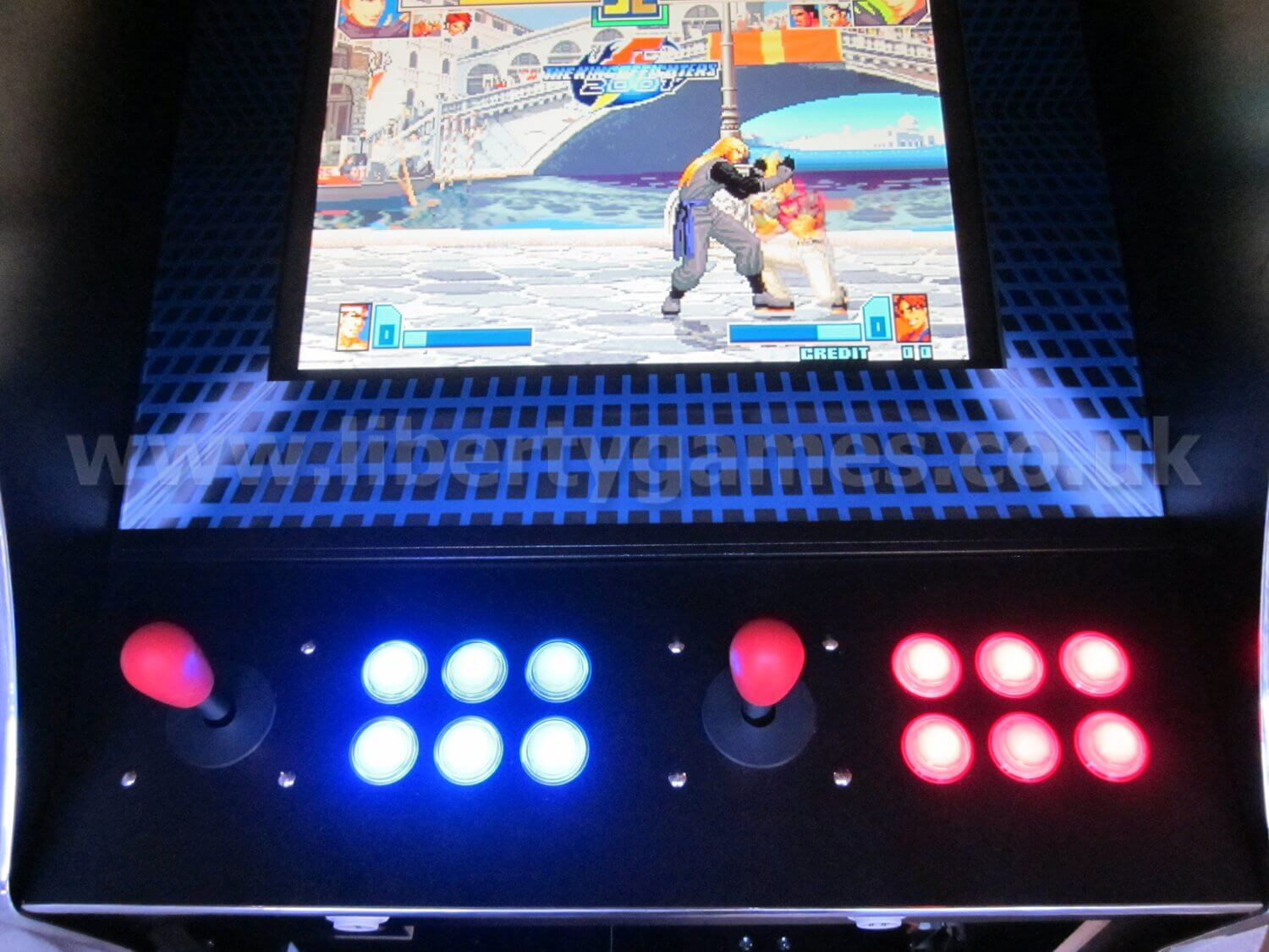 Cosmic Fighter Multi Game Arcade Machine Liberty Games