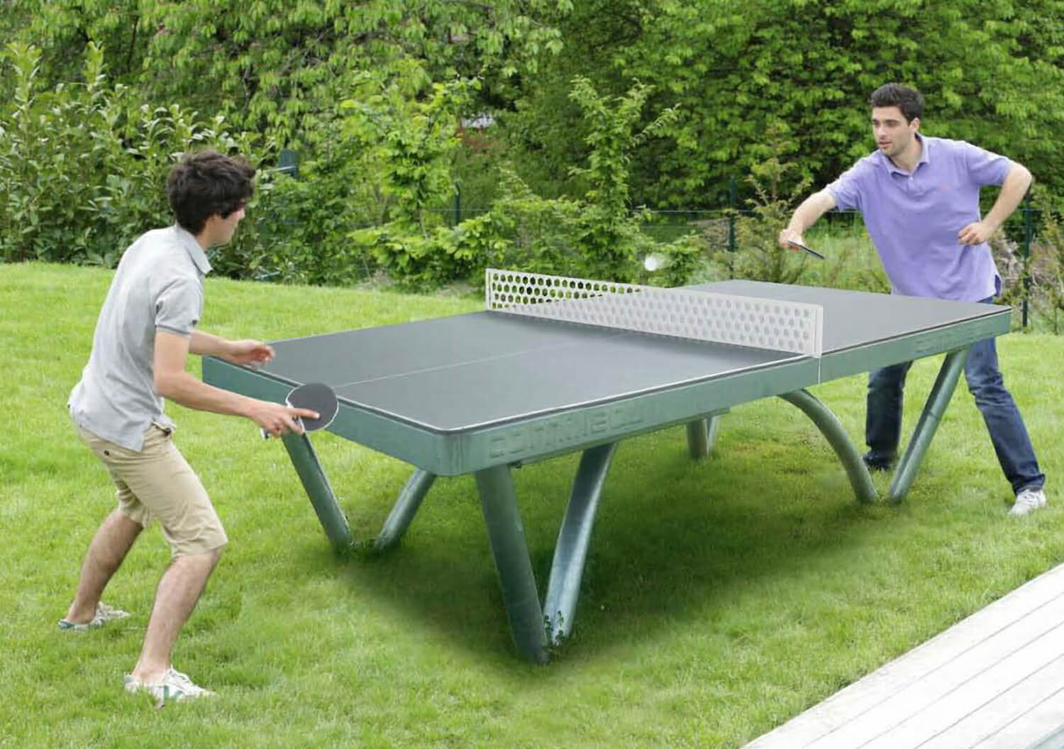 cornilleau park static outdoor table tennis liberty games. Black Bedroom Furniture Sets. Home Design Ideas