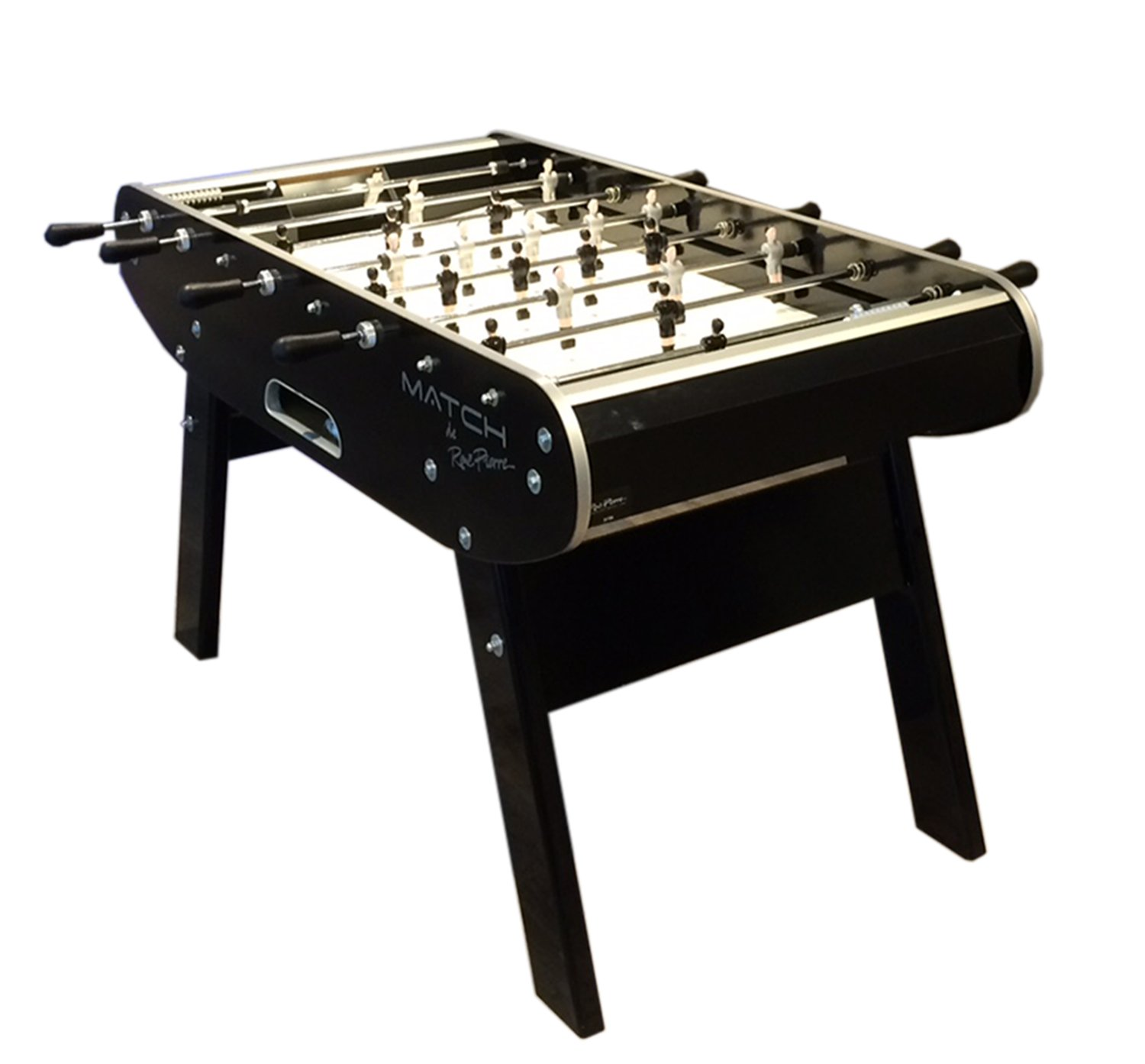 381fe2f2073a62 Rene Pierre Match Football Table. Black match football table. Black Match