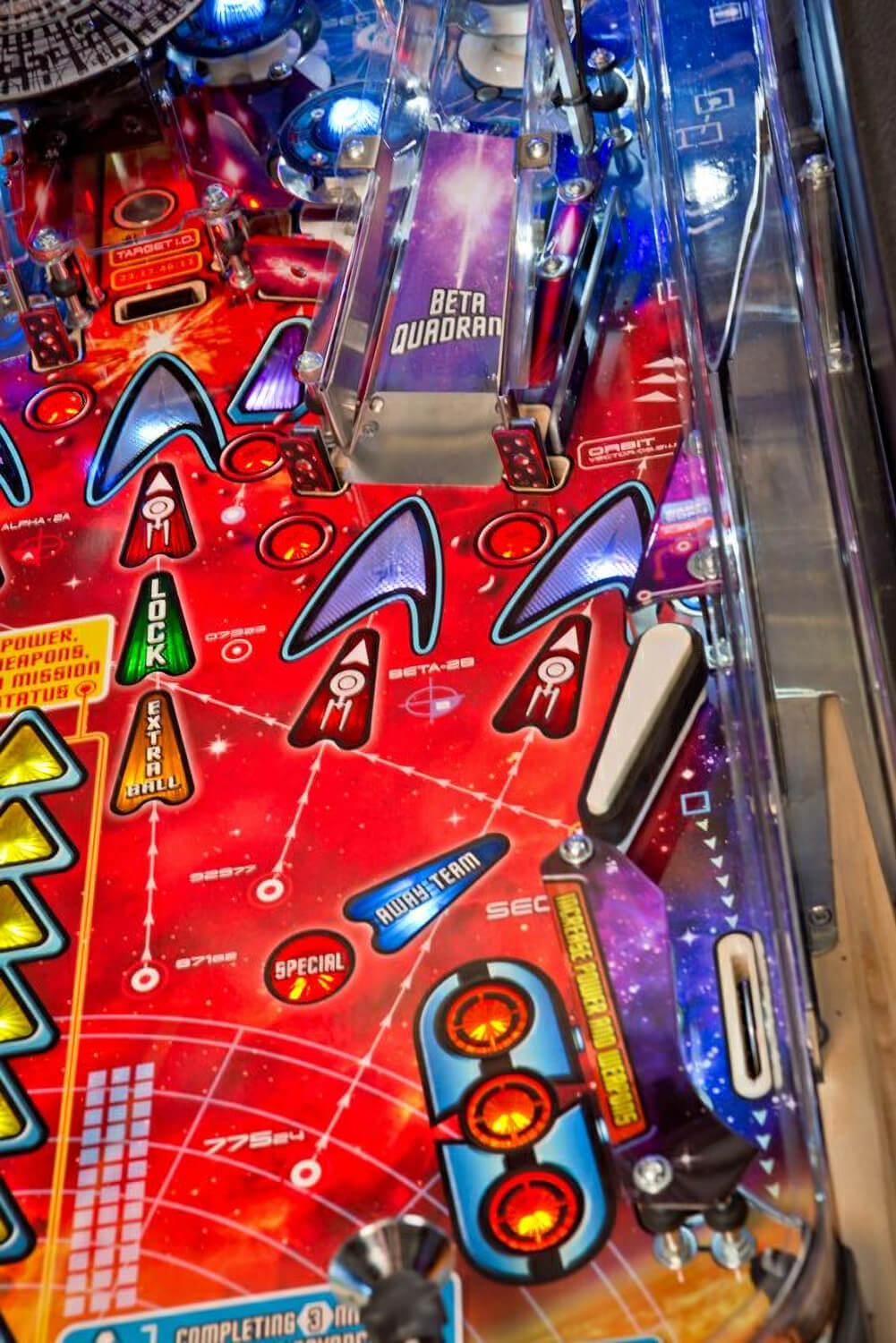 Neon Signs For Sale >> Stern Star Trek Pinball | Liberty Games