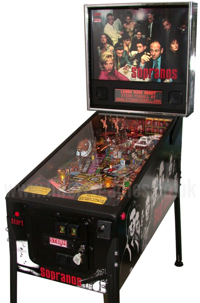 Stern The Sopranos Pinball Machine For Sale Liberty Games