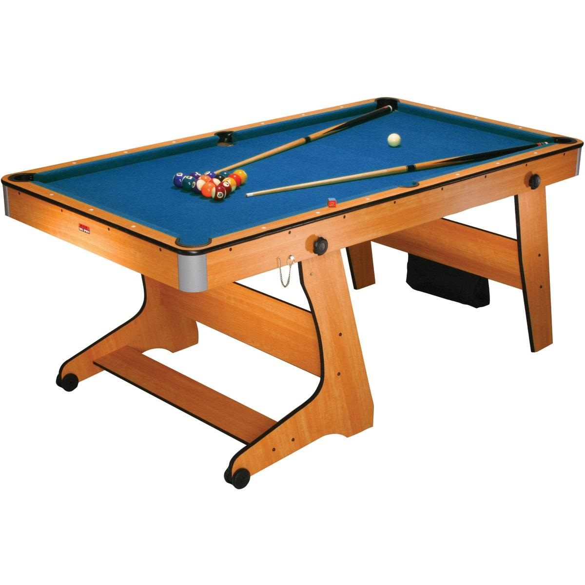Bce 6ft vertical folding home pool table fp 6tt for Pool table house