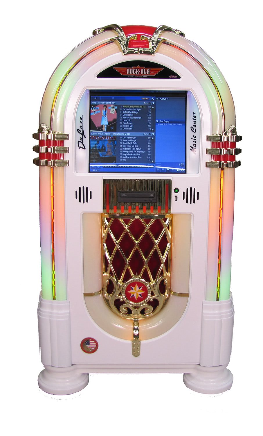 Rock Ola Gloss Music Centre Jukebox Liberty Games