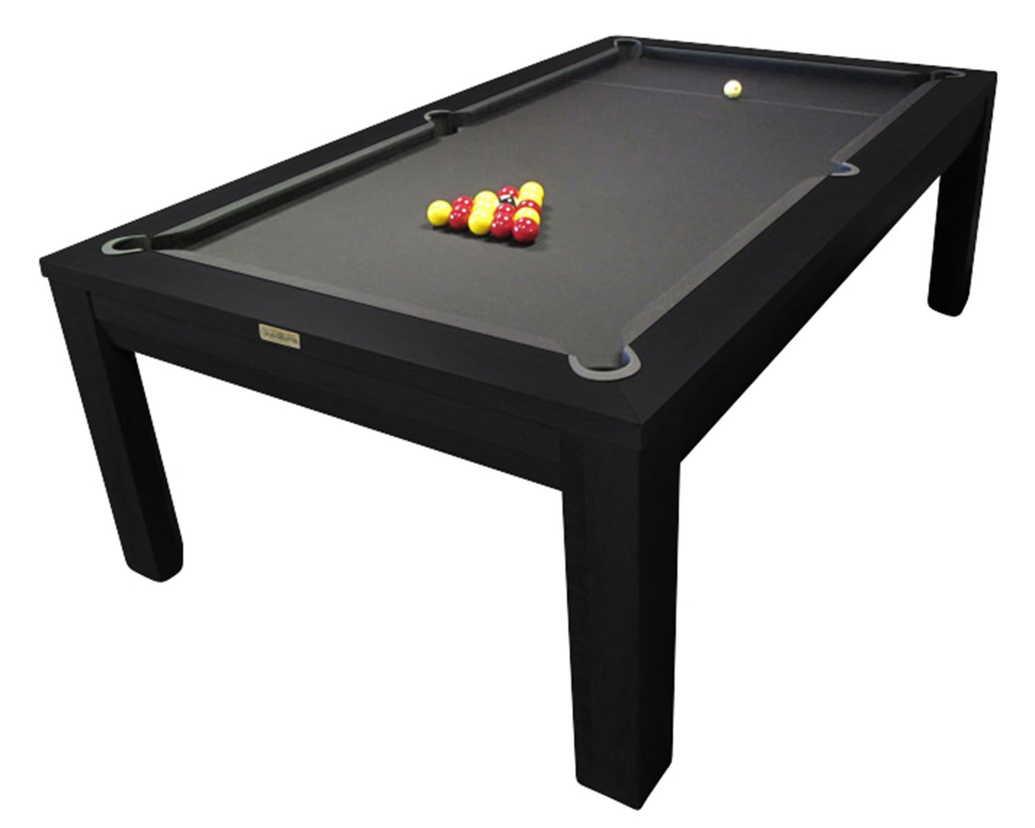 Pool Table Chairs Pool Table Dining Room Table Combo  : 4864 Heimo in a black finish from joomlaink.com size 1500 x 1201 jpeg 62kB