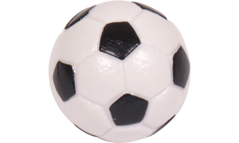 Strikeworth 31mm Black and White Football Table Balls ...