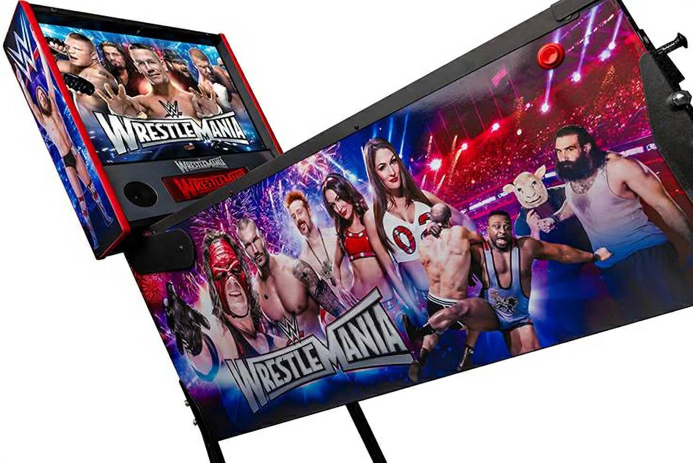 Stern Wwe Wrestlemania Pro Pinball Machine Liberty Games