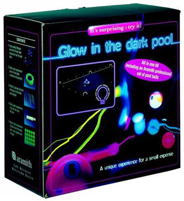 Aramith 2'' UV Spots & Stripes Pool Balls