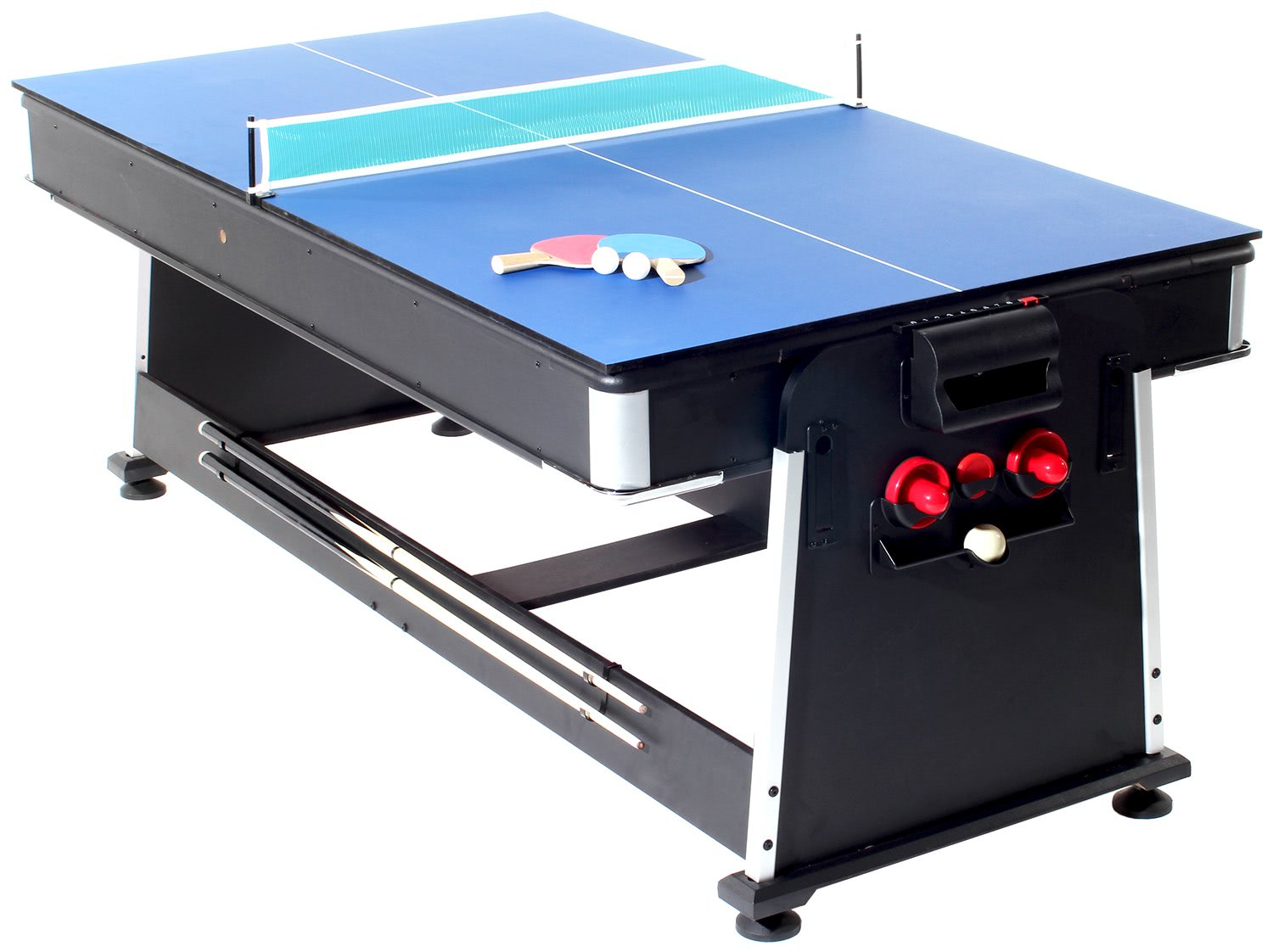 Strikeworth 7 foot multi games table liberty games for Tabletop table